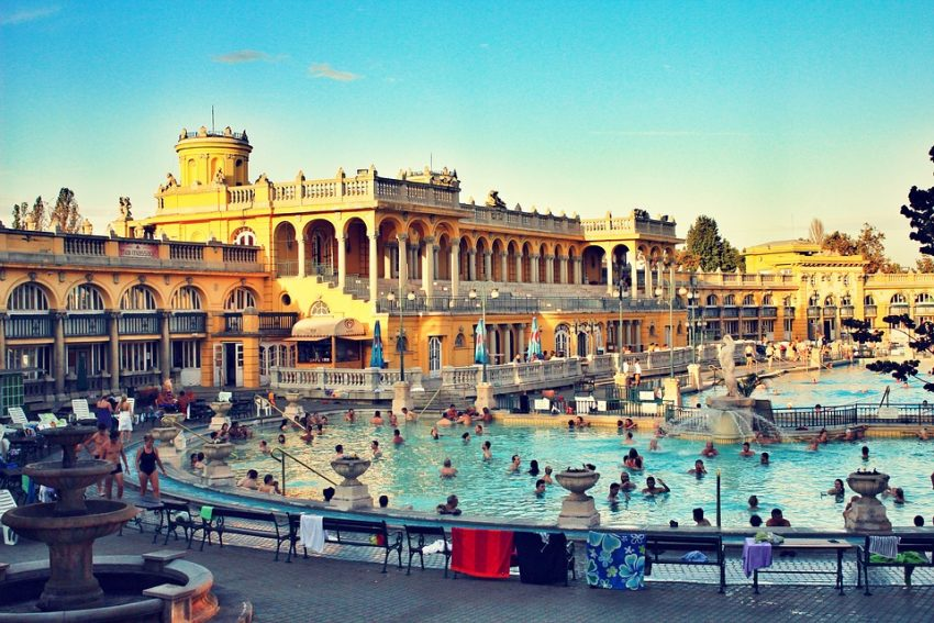 budapesti fürdők